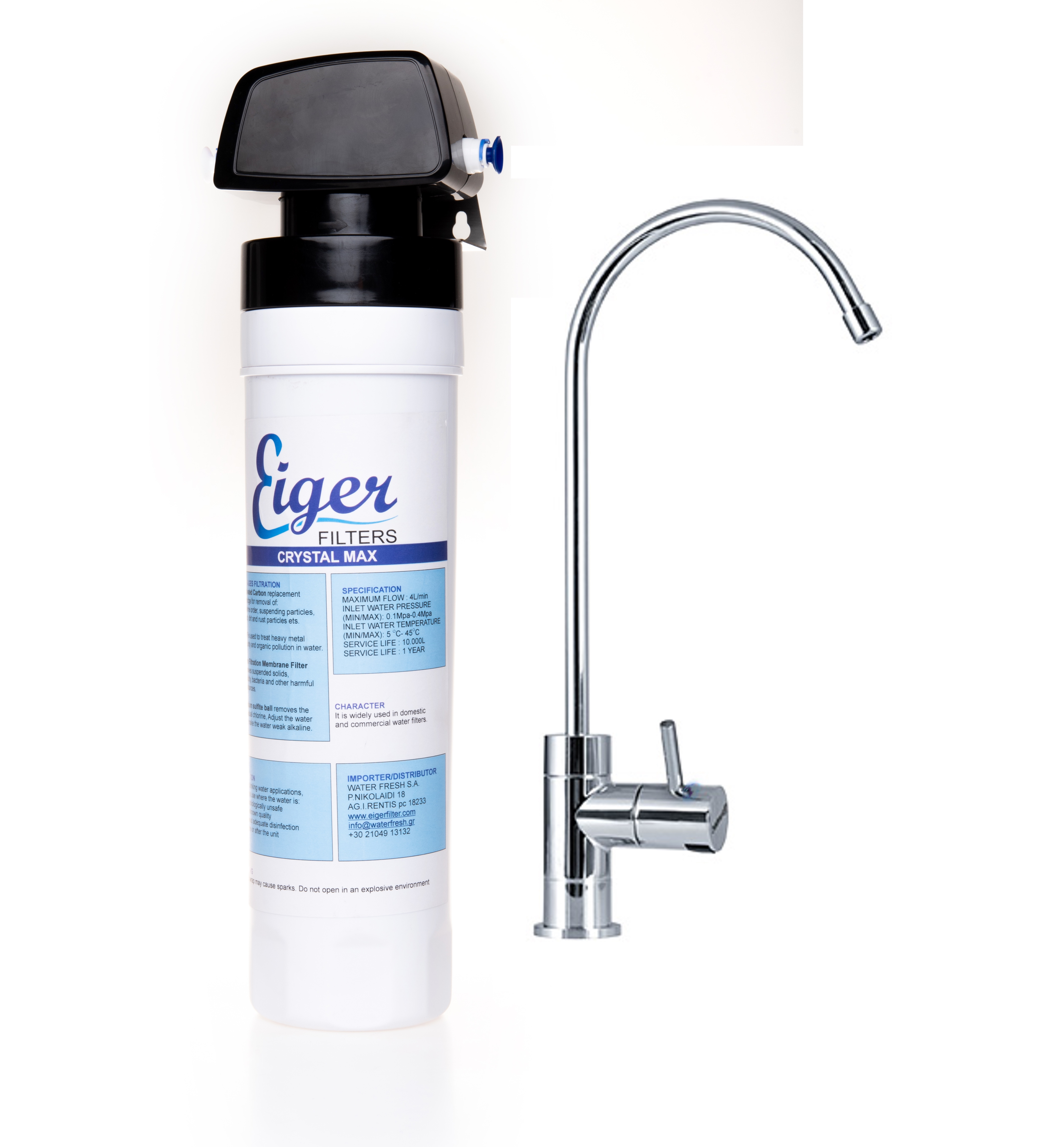 Eiger Countertop Water Filter for VOC